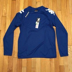 Men's NWT Kappa Activewear Long Sleeve Shirt Sz.Md